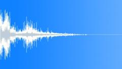 gravel impact 09 - sound effect
