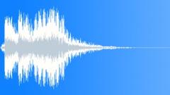 Metal reverberant impact 02 Sound Effect