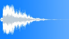 Metal reverberant impact 04 Sound Effect