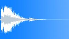 Metal reverberant impact 06 Sound Effect
