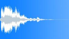 Metal reverberant impact 08 Sound Effect