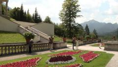 Linderhof Palace. Bavaria, Germany. Stock Footage