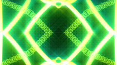 Motion abstract, futuristic light ornaments, HD 1080p, loop. Stock Footage