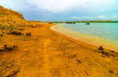 La guajira coast view Stock Photos