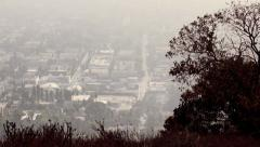 Los Angeles cityscape Stock Footage