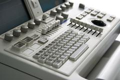 Medical device keyboard Stock Photos