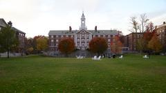 Harvardin yliopisto Radcliffe Quadrangle Kuvituskuvat