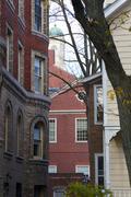 New England Architecture - stock photo