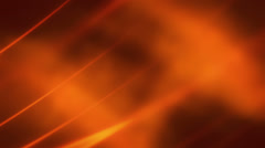 Orange Soft Flowing Loop Stock Footage