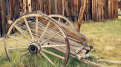 Antique Cart Stock Footage