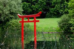 torii - stock photo
