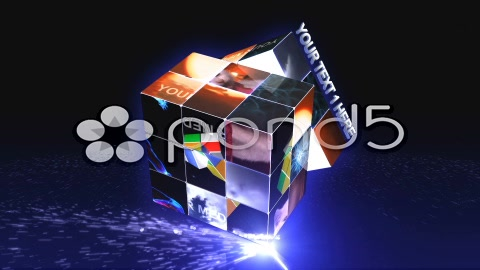 After Effects Project - Pond5 CUBE PUZZLE 32522775
