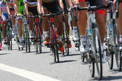 26 may 2013 italy, vicenza, vi, giro di italia tour of italy cycling group in Stock Photos
