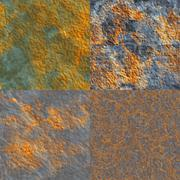 Seamless rust texture Stock Illustration