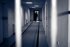 Corridor prison. Stock Photos