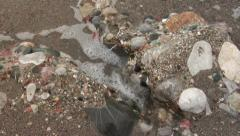Stock Video Footage of Puddingstones formation. Geology. Conglomerates stones. Pebbles.