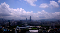 Shenzhen Panorama,China Stock Footage