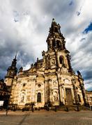 catholic church - stock photo