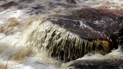 601 water rushing and making a heavy noise Stock Footage