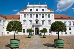 The palace of Oranienburg - stock photo