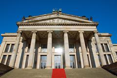 Konzerthaus at the Gendarmenmarkt Stock Photos