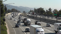 210 Freeway near Lake Ave in Pasadena, USA Stock Footage