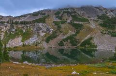 holly lake paintbrush canyon - stock photo