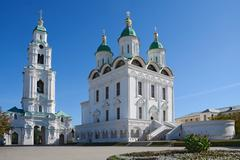astrakhan kremlin - stock photo