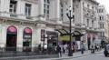 People Walking London Underground Metro Tube Station Train Railway Entrance Day HD Footage