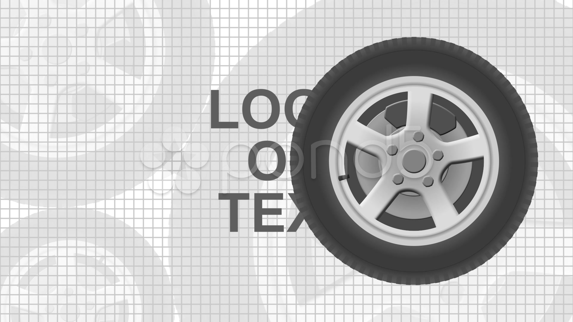 After Effects Project - Pond5 Wheel Logo Reveal 32542231