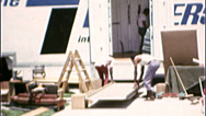 Stock Video Footage of LOADING VAN MOVING DAY Relocating Family 1970s Vintage 8mm Film Home Movie 7313