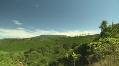 Costa Rica Farmland Stock Footage