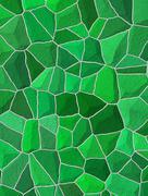 Broken tiles mosaic floor or wall. background texture Stock Illustration