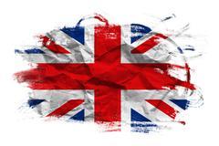 Great britain flag Stock Photos