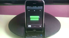 IPhone The Charging Stock Footage