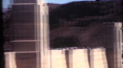 Vintage home movies, Hoover Dam Stock Footage