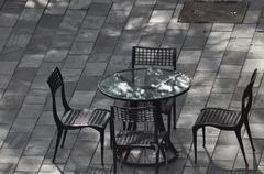 Quiet Table Retreat Stock Photos