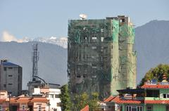 Mukti Tower Under Construction - stock photo
