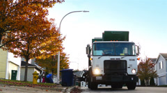 Waste Management Stock Footage