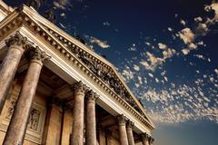 classical pillar - stock photo