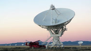 Stock Video Footage of Very Large Array Radio Telescope at 1080