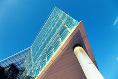 Modern architecture up Stock Photos