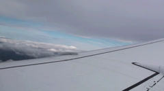 Plane Wing Stock Footage