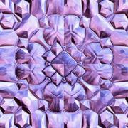 Seamless crystal texture Stock Illustration