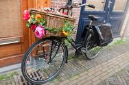 Stock Photo of dutch transport bike