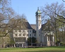 Glienicke Hunting Lodge (Jagdschloss Glienicke), Berlin - Potsdam Stock Footage