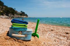 Travel to the beach Stock Photos