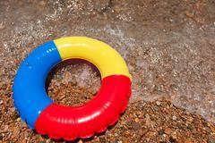 toy life preserver - stock photo