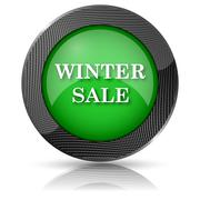 Stock Illustration of winter sale icon