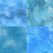 Seamless water texture Stock Illustration